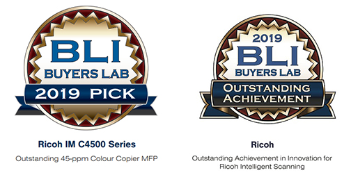 Ricoh enjoys double Buyers Lab Award win